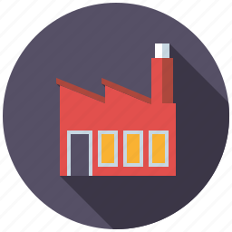 building, factory, house, industrial, real estate, realty icon