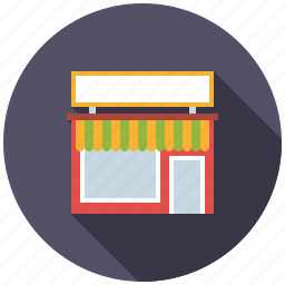 building, house, real estate, realty, retail, shop, store icon