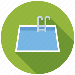 facility, home, real estate, realty, swimming pool icon