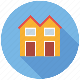 home, house, real estate, realty, row houses, town houses icon
