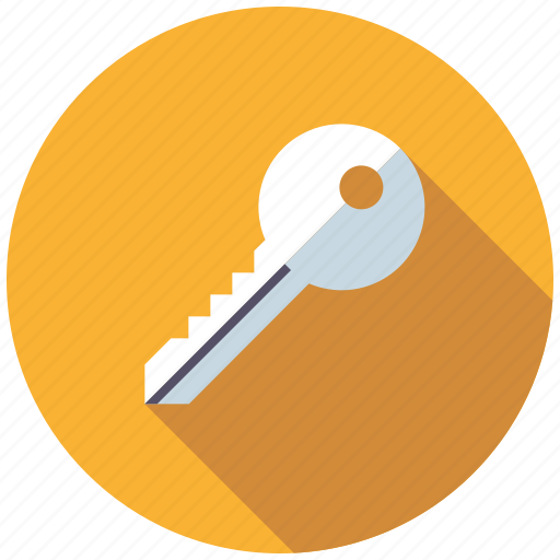 home, key, real estate, realty, security icon