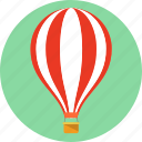 balloon, baloon, blimp, hot air balloon, transport, zeppelin icon