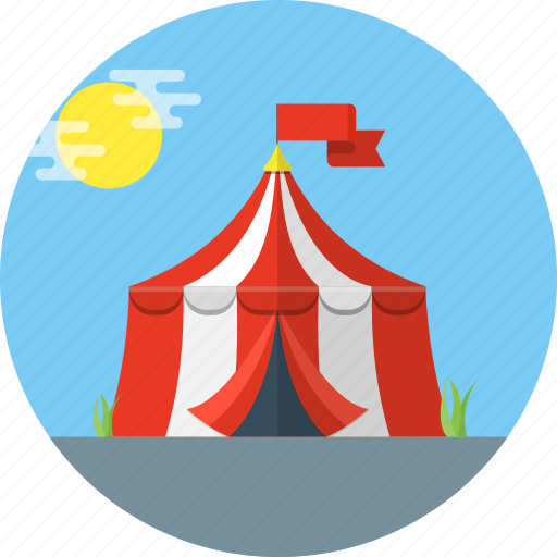 Carnival, circus, tent icon - Download on Iconfinder