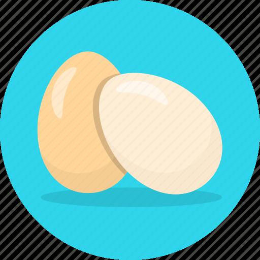 chicken egg, eggs, food icon