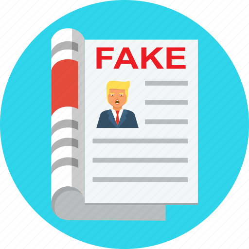 fake, news, russia, troll, trump icon