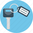 key, label, pass, tag icon