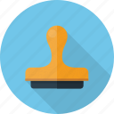 rubber, stamp icon