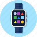 application, smart watch, smartwatch, wrist icon