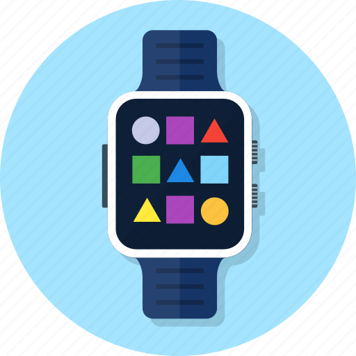 application, smart watch, smartwatch, wrist icon