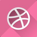logo, dribbble, media, design, social