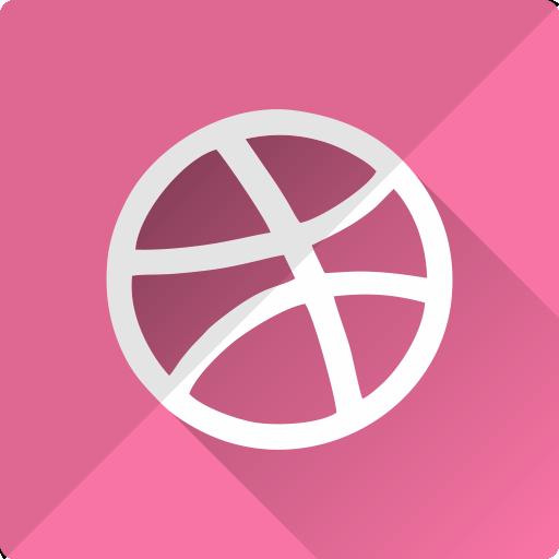 community, design, dribbble, logo, media, social icon