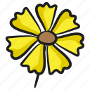 bloom, chamomile, daisy, daisy flower, nature icon