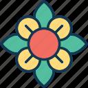 flower, hibiscus, hibiscus flower, rhododendron icon