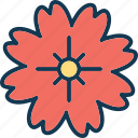 blooming, flower, lotus, lotus flower icon