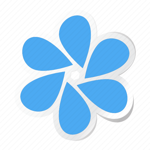 abstract, bud, creative, decorative, floral, flower, shape icon