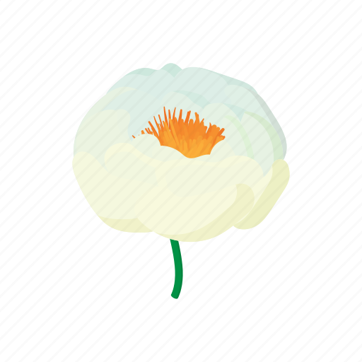 cartoon, floral, flower, leaf, nature, plant, spring icon