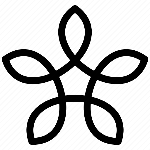 bloom, flower, leaves, pattern icon