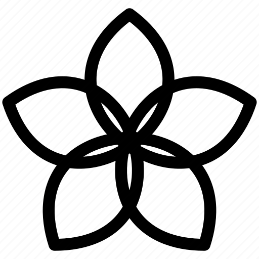 bloom, flower, pattern, spring icon