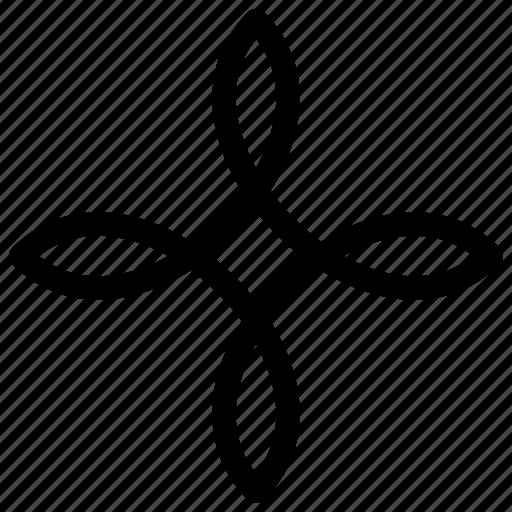 decoration, ornament, pattern icon
