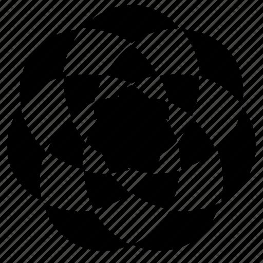 abstract, circle, creative design, creative flower, design, flower, pattern icon