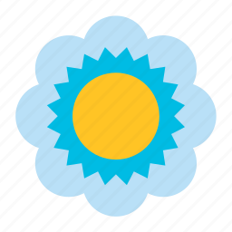 bloom, blooming, floral, flower, nature, plant, sunflower icon
