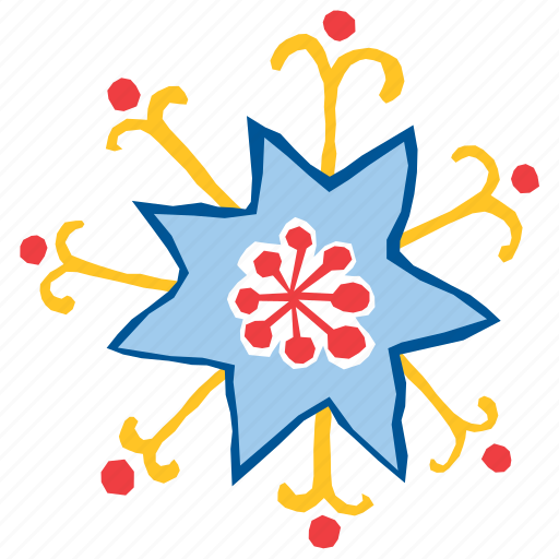 abstract, daisy, flora, floral, flower, nature, plant icon
