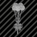 bouquet, carnation, floristry, flower, nature, plant icon