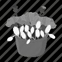 bouquet, clove, floristry, flower, nature, plant, snowdrop icon