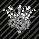 bouquet, eco, floral, floristry, flower, nature, plant icon