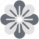 blooming, ecology, leaf, japanese flower, nature icon