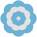 ecology, nature, cuckoo flower, salad leaf, donut flower, blooming icon