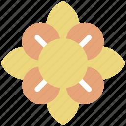 bee flower, decoration, flower, greeting, spiderwort, spiderwort flower icon