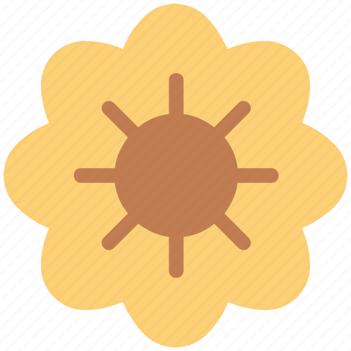 blooming, decorative, ecology, floral, flower, nature icon