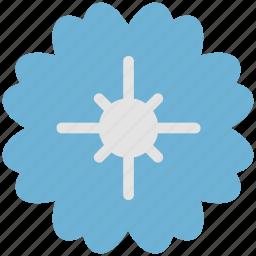 decorative, floral, flower, petals, plant icon
