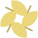 flower, four leaves, leaf, leaf flower, nature, plant, violet flower icon