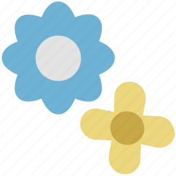 bloom, blossom, decorative flower, flower, nature icon