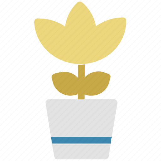 eco, ecology, nature, plant, pot, rose, rose pot icon
