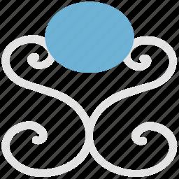 bud flower, curls flower, floral, floral bud, floral design, floral pattern icon