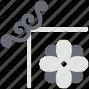 decoration, decorative flower, ecology, flower, flower pattern, nature icon