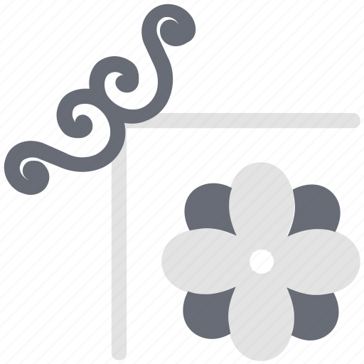 decoration, decorative flower, ecology, flower, flower pattern, nature icon