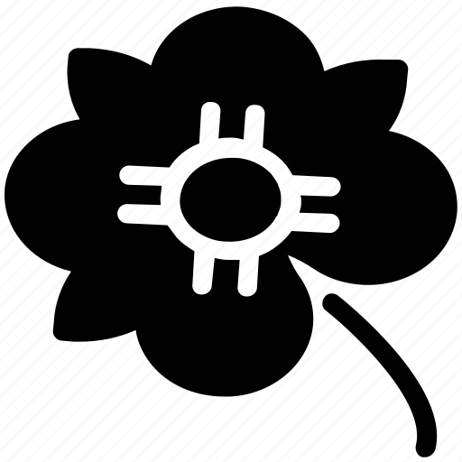 flower bud, garden, natural, peace flower, petals flower, yard icon