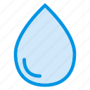 drop, droplet, liquid, oil, rain, shower, water icon