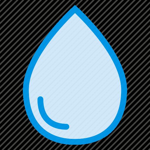 drop, droplet, liquid, oil, rain, shower, water icon