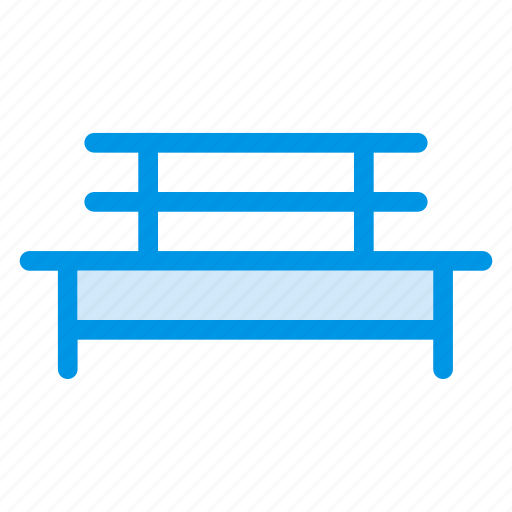 bench, city, furniture, outdoor, park, recreation, rest icon