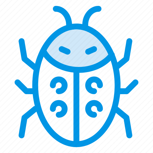 bug, garden, green, insect, ladybug, nature, park icon
