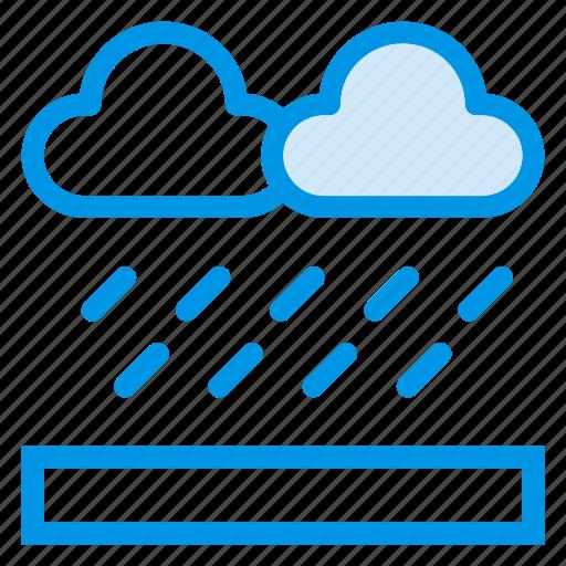 cloud, cold, rain, sky, storm, sun, weather icon