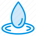 drop, droplet, liquid, oil, raindrop, rainy, water icon