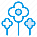 blossom, flower, flowers, garden, green, nature, park icon