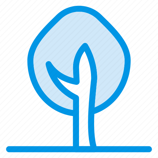 forest, garden, green, leaf, nature, park, tree icon