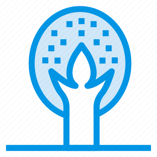 forest, green, island, leaf, nature, plant, tree icon